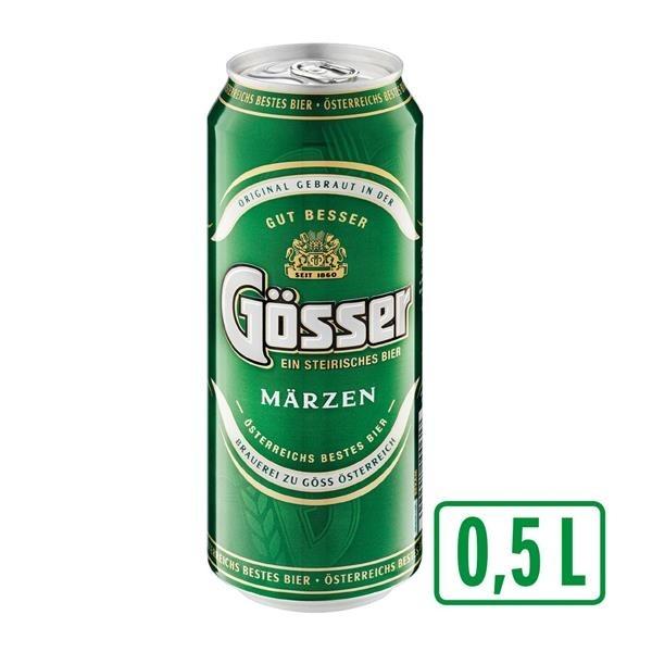 Gösser Bier 0,5 lt. (1x24 Dose)