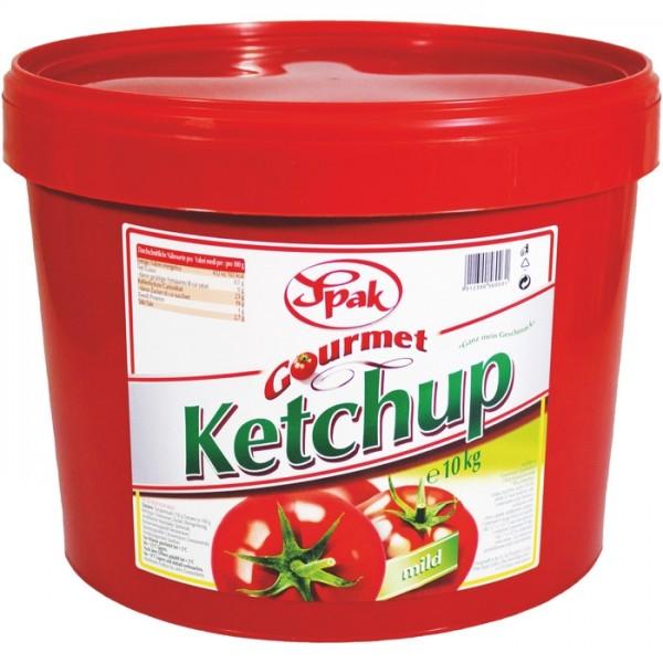 SPAK Ketchup Mild - 10 kg Kübel