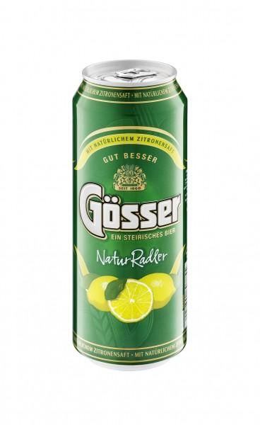 Gösser Natur Radler Bier 0,5 lt. ( 1 x 24 Dose )