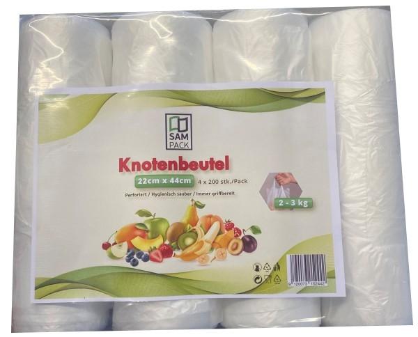 """""""SamPack""""Knotenbeutel 3-4 Kg (4x200 stk/Pack)"""