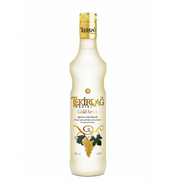 Tekirdag Raki Gold - ( 45 % 0,70 Lt. Flasche )