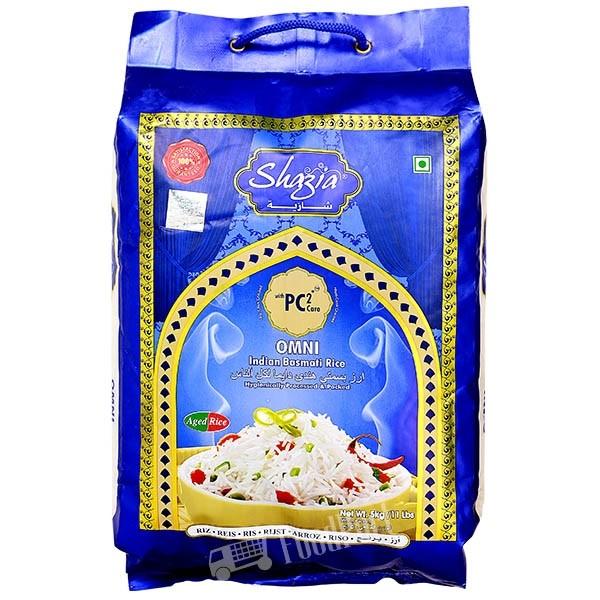 """Shazia""Basmati Reis ( 5 kg Sack )"