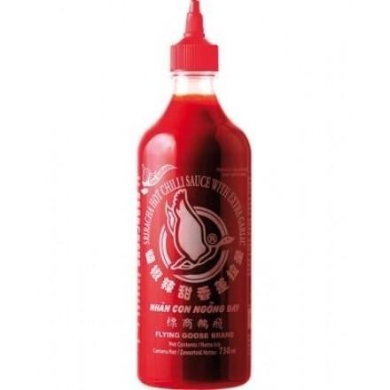 Chilisauce Sriracha Extra Scharf Rot (730 ml, 12/#)