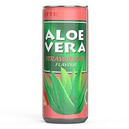 Aloevera Strawberry (Cilek 30 x 0,24 l Dose )