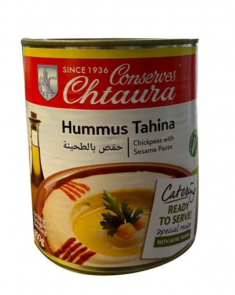 Humus Chtoura Garden ( 850 gr/Dose)