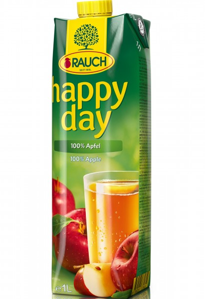 Rauch Happy Day - Apfelsaft - ( 1 Liter Pack )