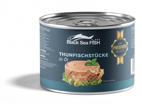 """Blacksea"" Thunfischstücke in Öl 185 gr KLEIN"