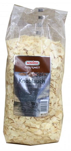KOTANYI - Knoblauchflocken Scheiben ( 1 Kg Pack )