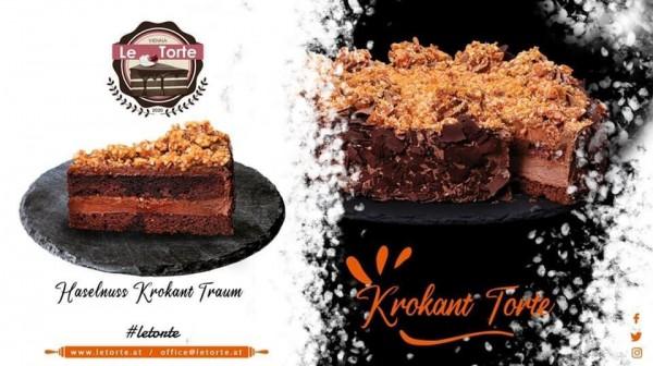 """Le Torte"" Qroquant Cake (1500gr)"