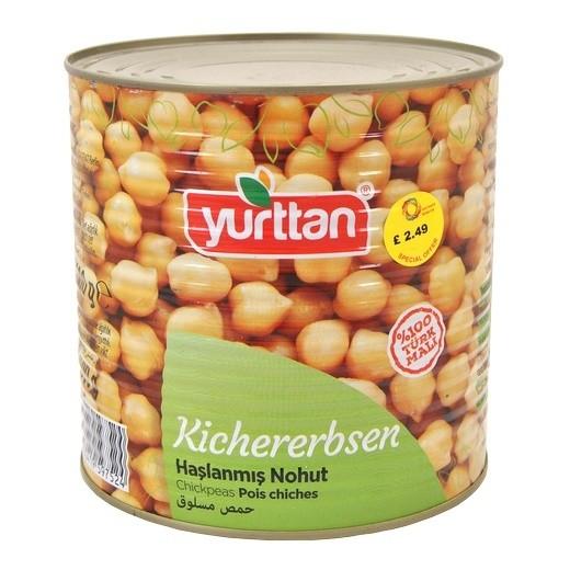 YURTTAN Nohut Haslama (800 gr/Dose)