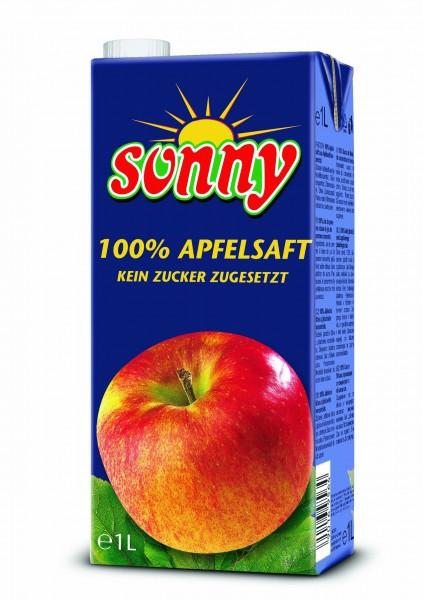 """Sunny""Apfelsaft ( 100 % - 1 Lt. / Tetrapack )"