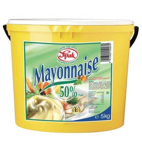 SPAK Mayonnaise (50% Fett - 10 kg Kübel)