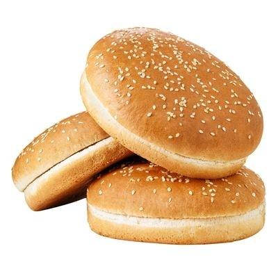 TK - Burgerbrot mit Sesam 125 gr (16 Stk/Box)