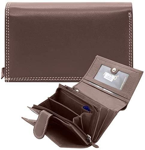 Geldbörsehaltertasche Zell (Braun 15,23 cm )
