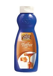 Carte D´or - Toffee Karamelsauce 1 kg Fl.