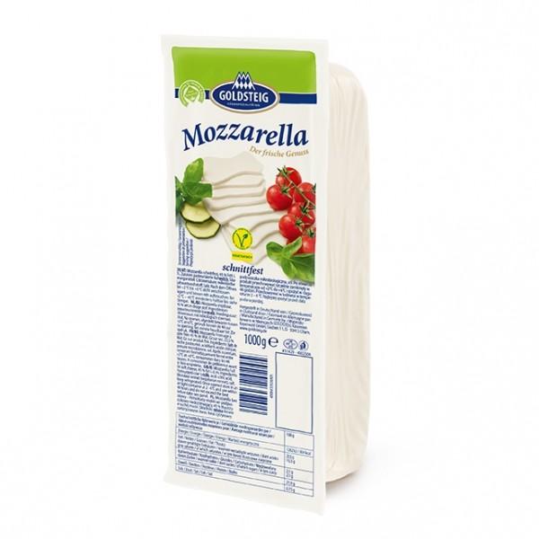 """ Goldsteig "" - Mozzarella (45% Fett - 1 kg Block)"
