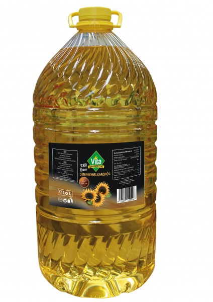 VITA - Sonnenblumenöl - 10 L. Pet