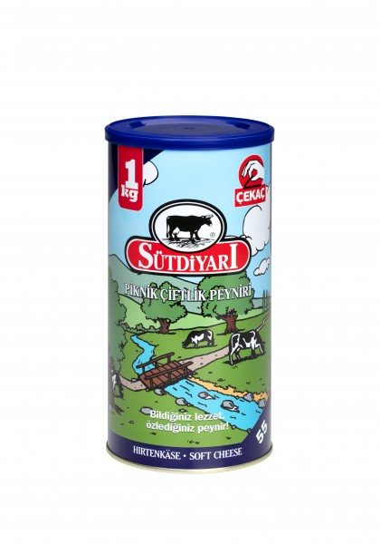 Sütdiyari Weisskäse - (55 %Fett) - (1 kg Dose)