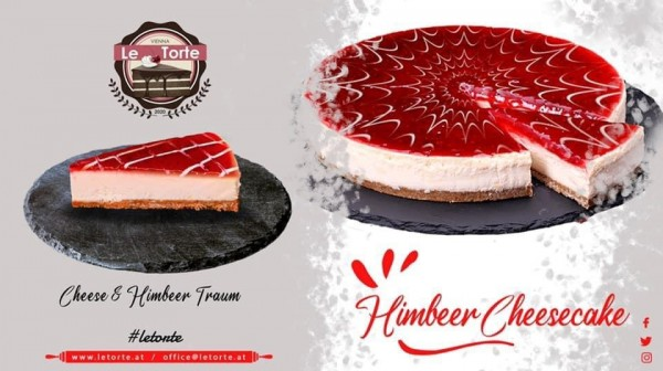 """""""Le Torte"""" Himbeer Cheesecake (1500gr)"""