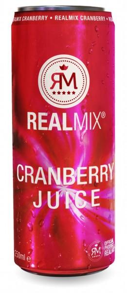 Realmix - Cranberry Saft 0,25lt.(1x24)