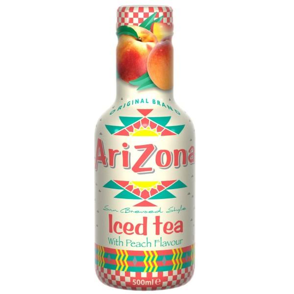 Arizona Eistee Peach Tea (6 x 0,50 Lt Flasche)