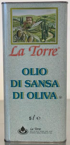 La Torre Olivenöl Pomace (5 Liter/Kanister)
