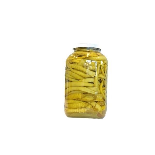 Eingelegte Paprika Mild Grün od.Rot (3,4 lt./Glas)