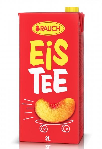 RAUCH Eistee Pfirsich 2 Liter TetraPack