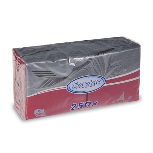 Gastro Serv.Bordo (33x33-3 Lagig-1/4-250 Stk.Pack)