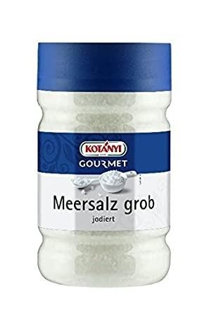 Kotanyi Meersalz grob jodiert - Poly (1560 g) Dose