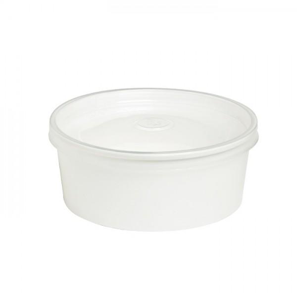 Suppenbox Plastik 16oz inkl. Deckel ( 1 x 50 Stk)