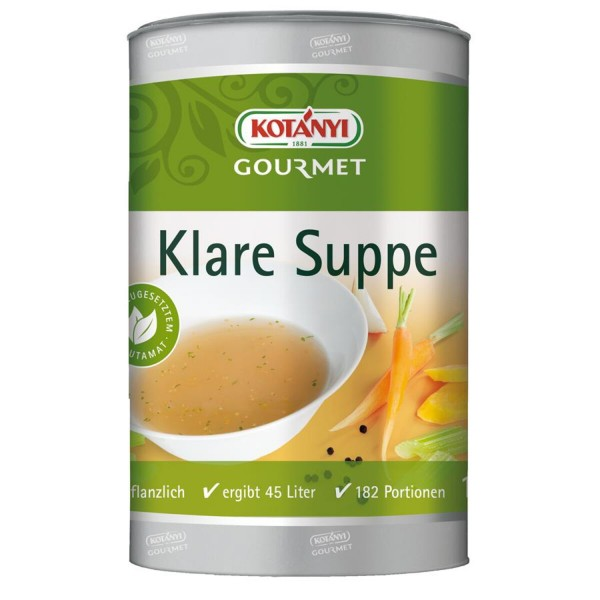 Knorr - Klare Suppe ( 5 Kg Kübel )
