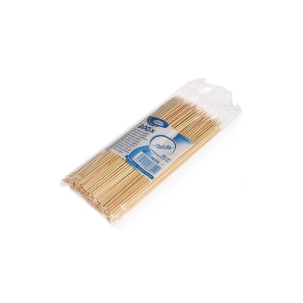 """Schaschl. Spiesse 20 cm """"Bambus"""" ( 200 Stk. )"""
