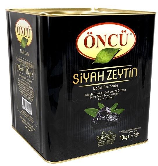 YURTTAN Oliven Schwarz (10 KG) 230-260