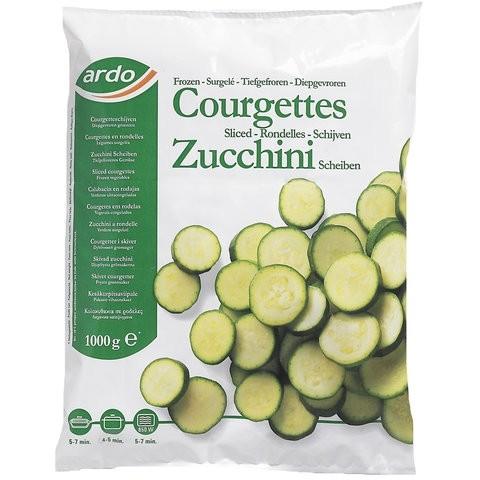 TK - Zucchini in Scheiben (1 Kg Sack )