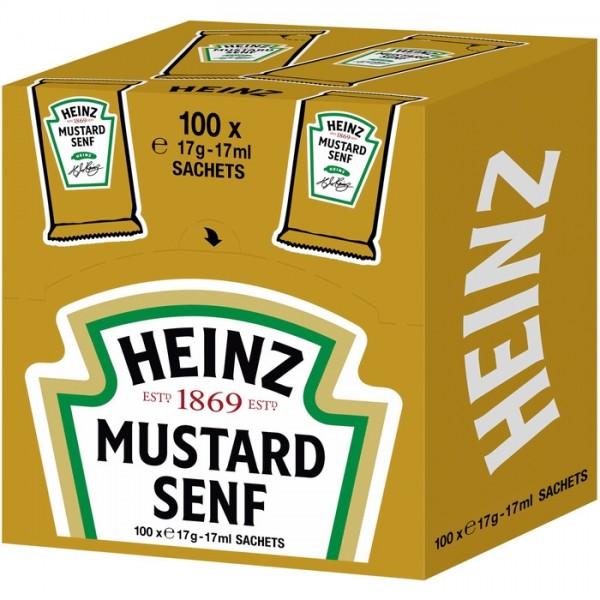 Heinz Senf Port. (100x17g)