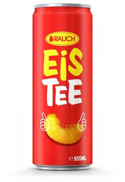 Rauch Eistee Pfirsich 0,330 lt - 1x24 Dose