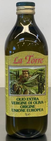 """La Torre"" Extra Virgin Olivenöl (1 Liter/Flasche)"