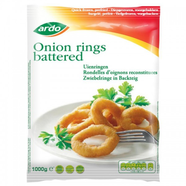 TK - ARDO Zwiebelringe im Backteig Onion (1 kg/Sack)