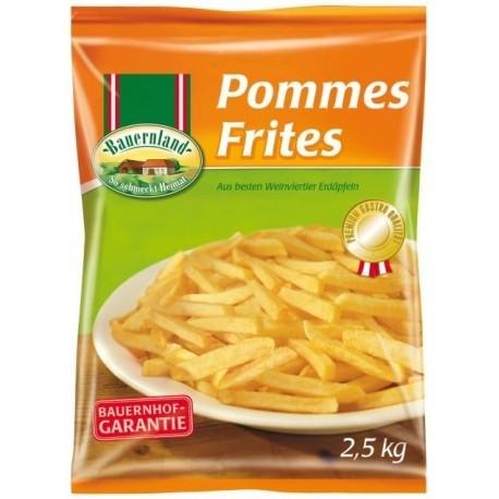 TK - Bauerland Pommes 10 mm (2,5 kg/Sack)