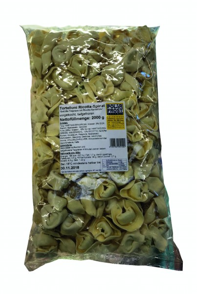 TK - Tortelloni Ricotta Spinat ( 2 kg Sack )