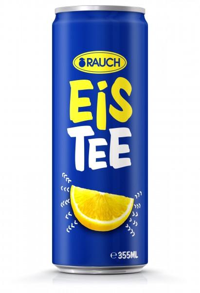 Rauch Eistee Zitrone 0,330 lt - 1x24 Dose
