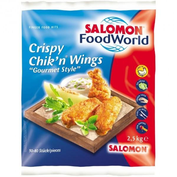 TK- Crispy Chikn Wings (Gourmet Style) 2,5 kg Sack