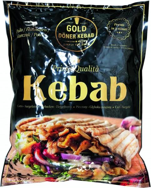 TK - GOLD Döner Kebab geschniten - (1 kg/Pack)