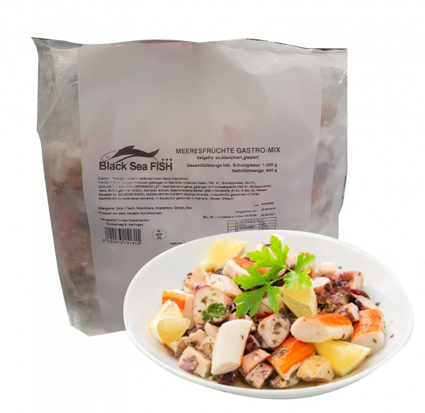 TK Black Sea-Meeresfrüchte-Mix Gastro-(1 kg /Sack)