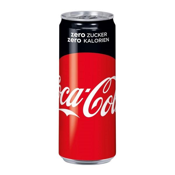 Coca Cola ZERO 0,33 lt. - 1x24 Dose