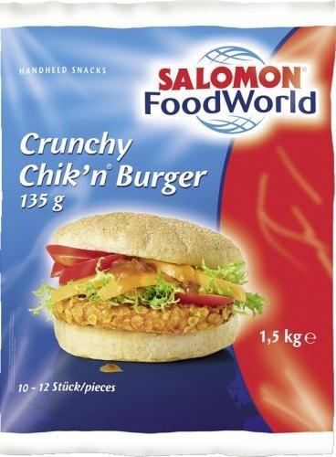 TK - Crunchy Chik`n Burger 135 gr (1,5 kg/Sack)
