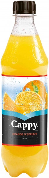 Cappy Orange Sprizz. (0,5 lt -1x24/Flasche)