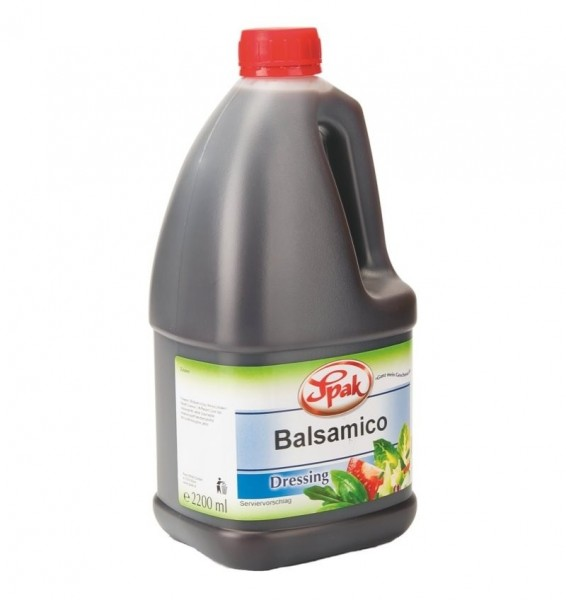 SPAK - Balsamico Dressing - 2,2 kg Flasche