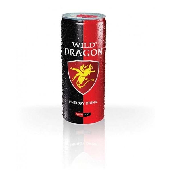 Wild Dragon (Energy Drink) 0,25l - 1x24 Dose